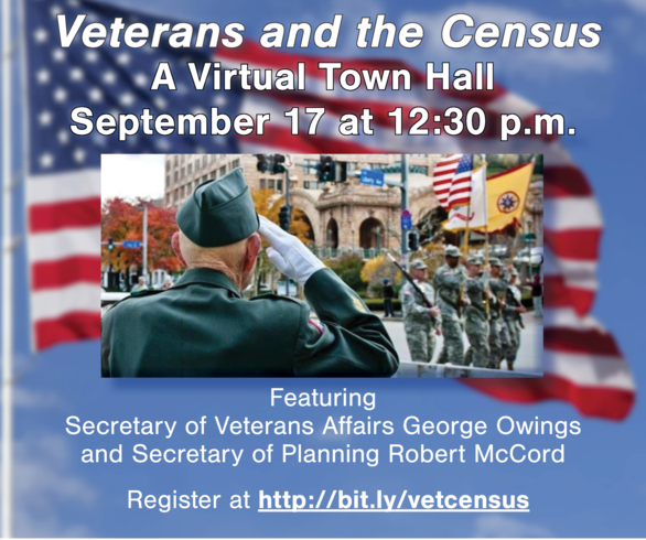 Veterans and the Census: A Virtual Town Hall