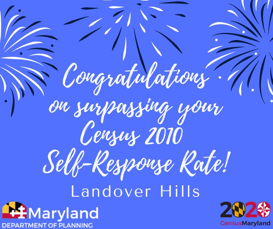 Landover-Hills-Surpasses-2010-Response-Rate