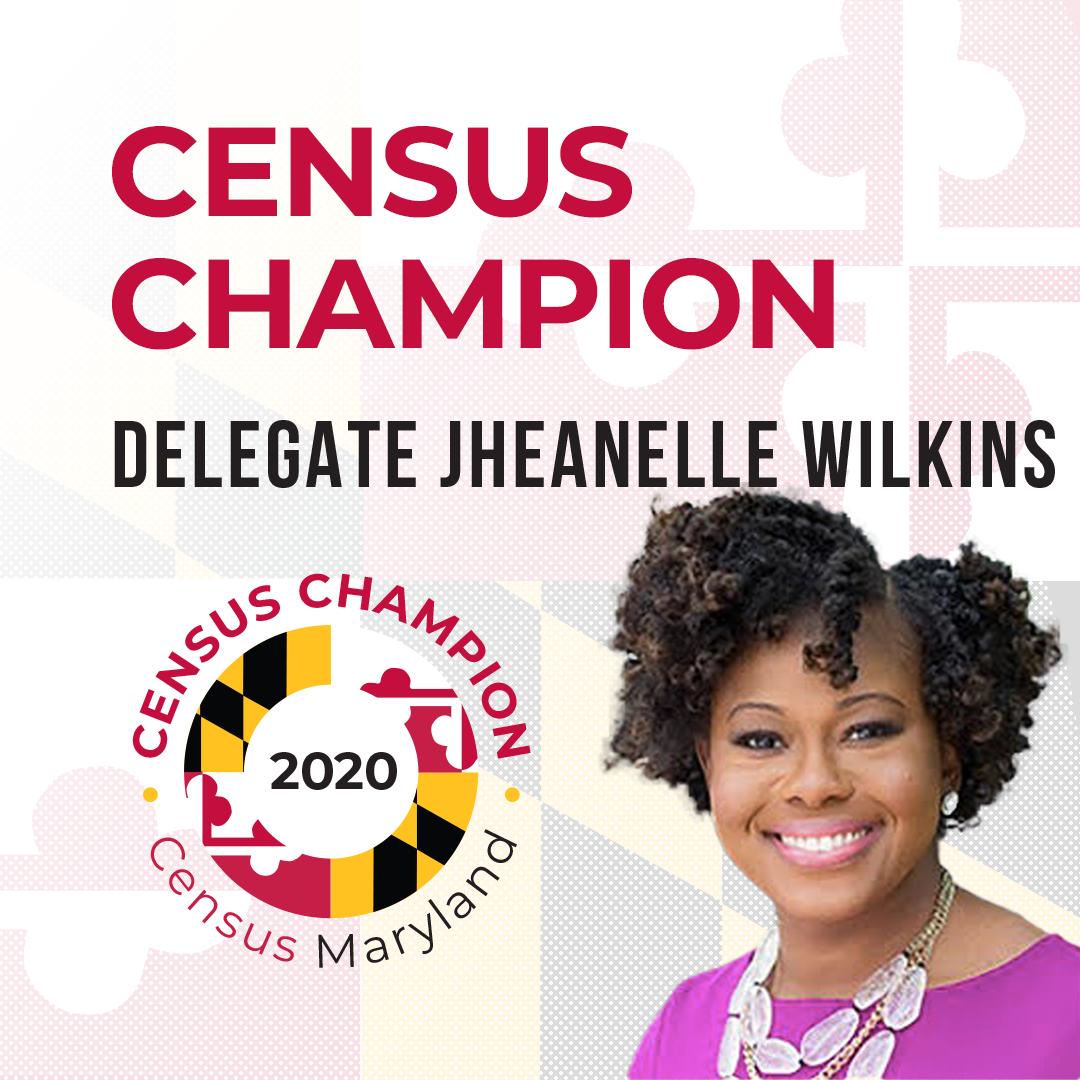 Delegate Jheanelle Wilkins