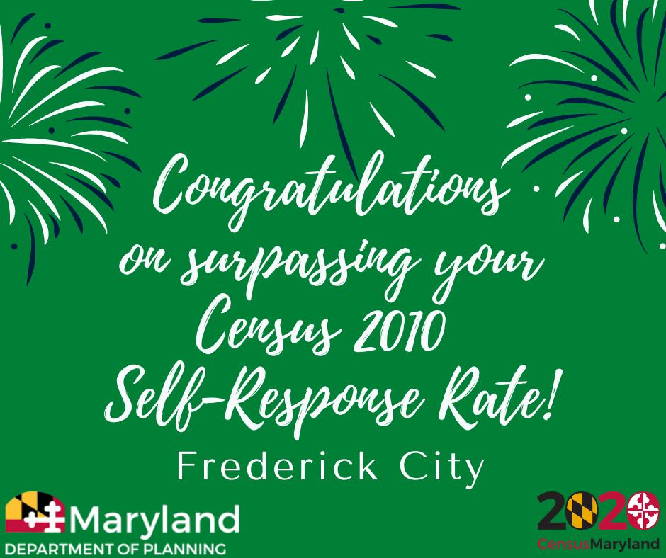 Frederick-Surpasses-2010-Response-Rate