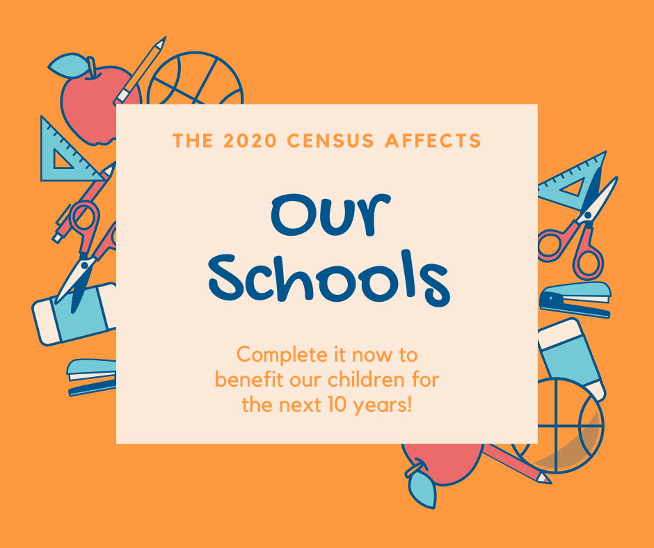 2020 Census Affects Our Schools