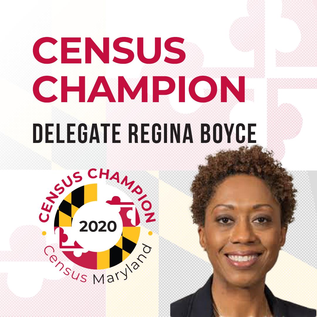 Delegate Regina T. Boyce