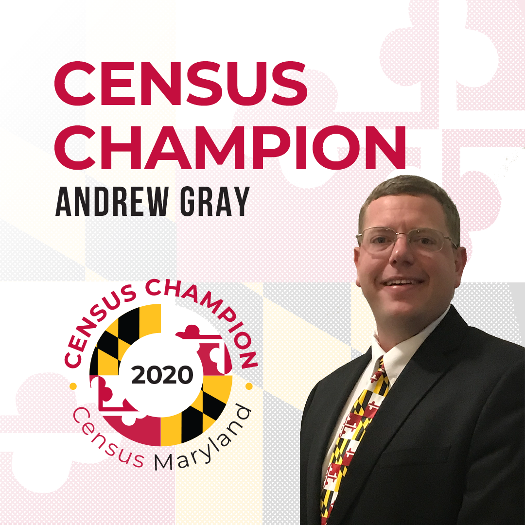 Census Champion Andrew Gray