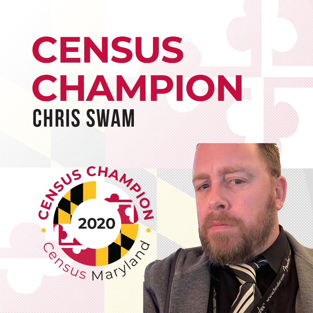 Census Champion Chris Swam