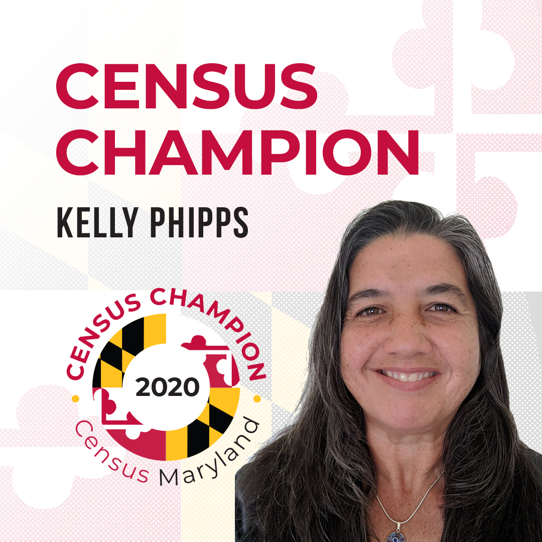 Census Champion Kelly Phipps