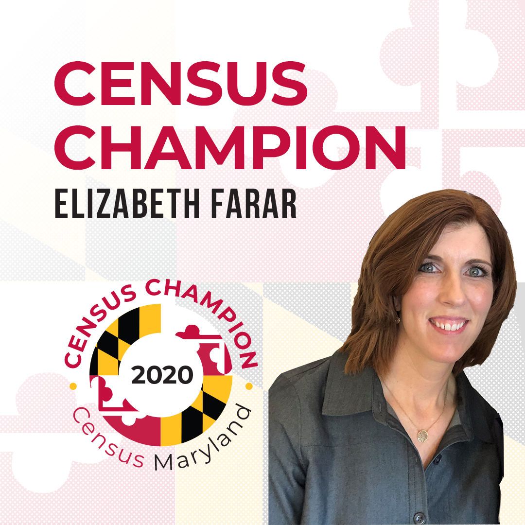 Census Champion Elizabeth Farar