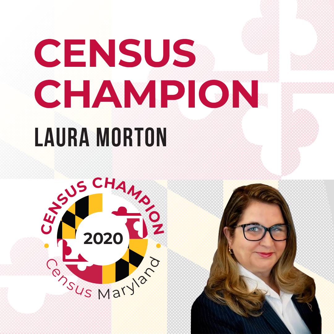 Census Champion Laura Morton