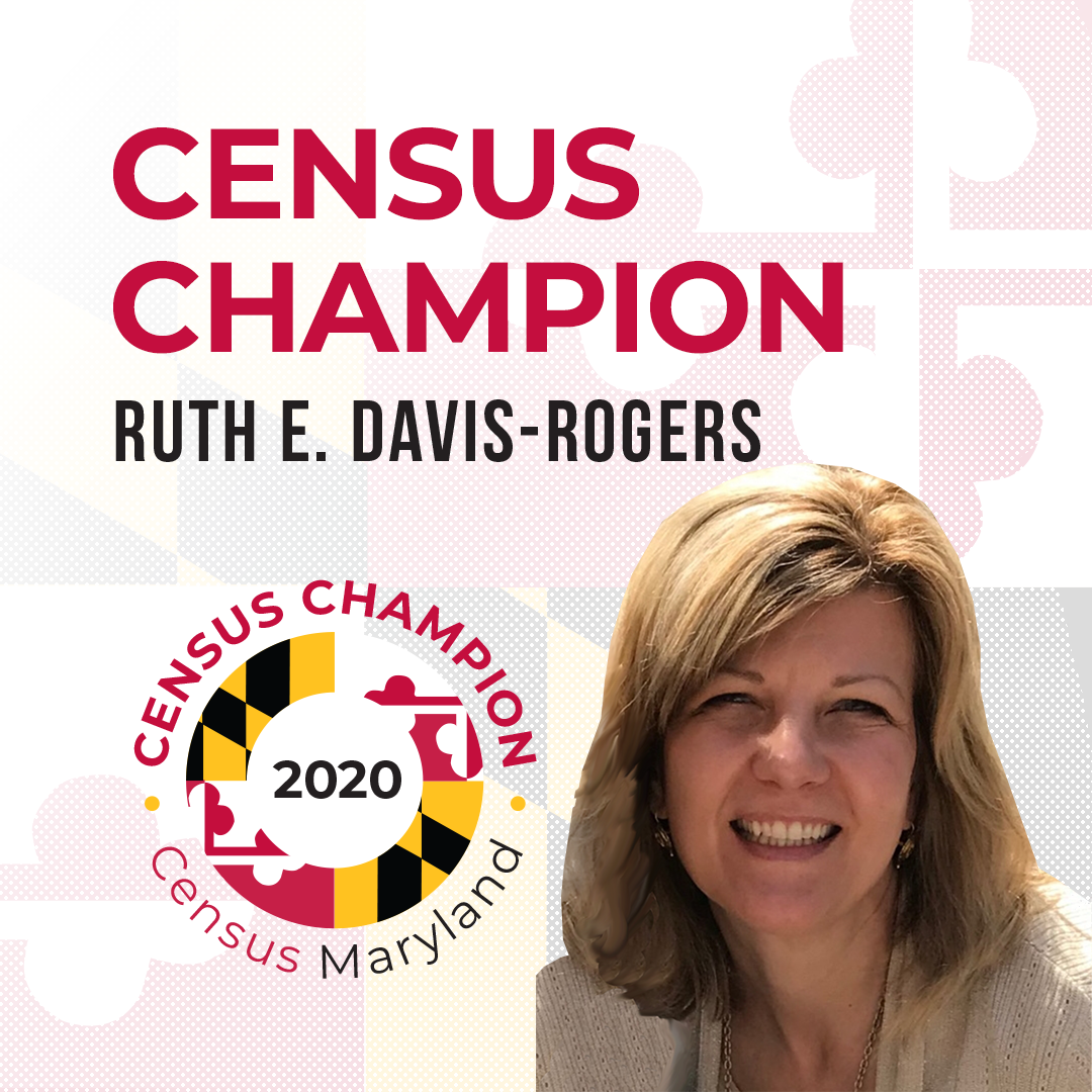 Census Champion Ruth Davis-Rogers