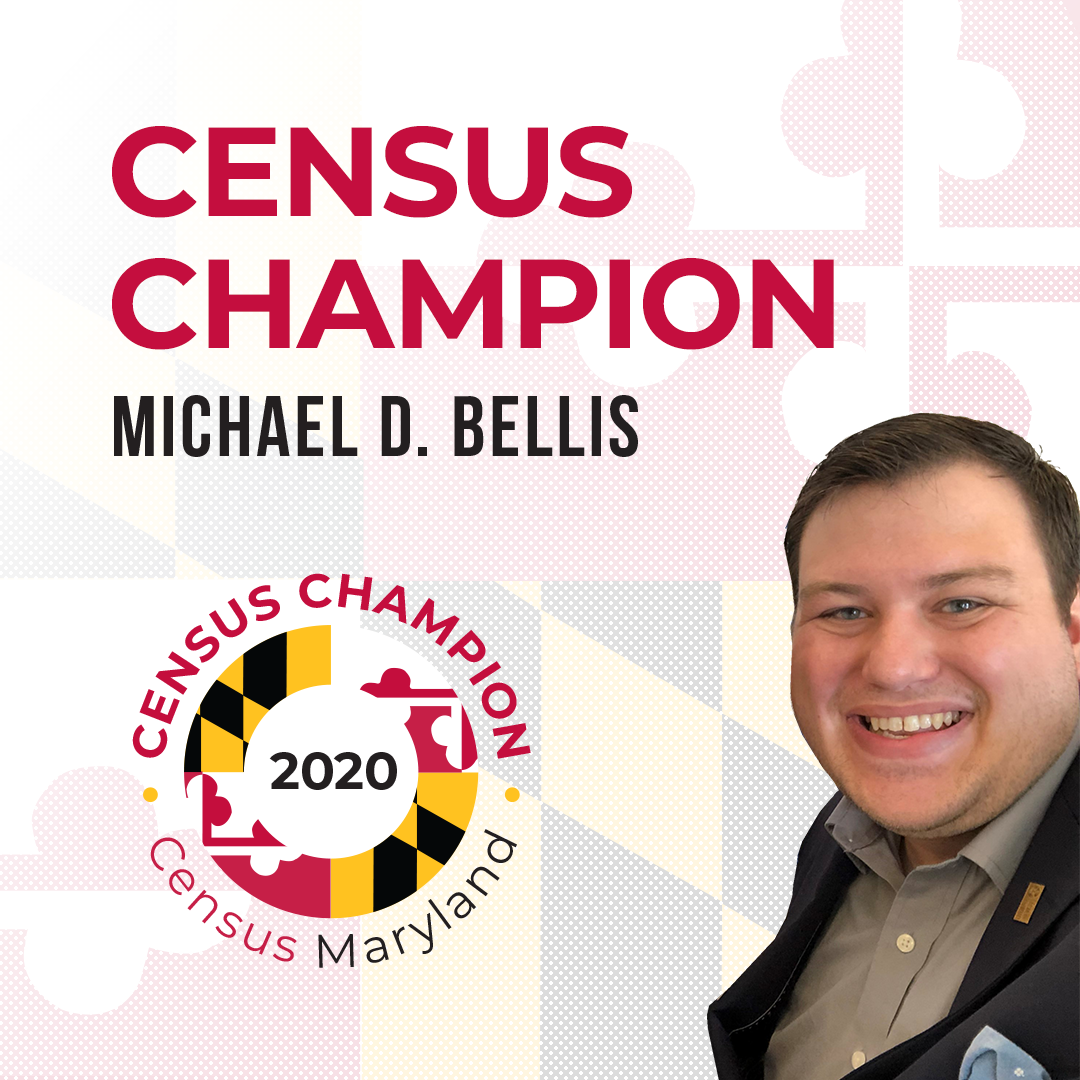 Census Champion Michael Bellis