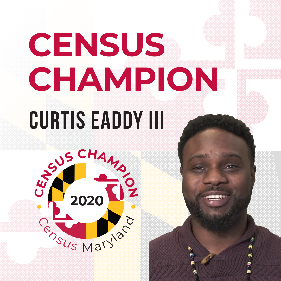 Census Champion Curtis Eaddy III