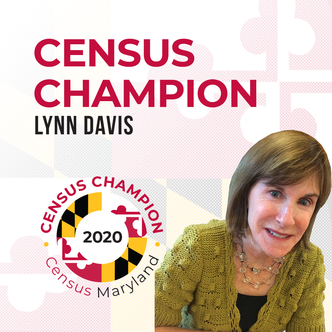 Census Champion Lynn Davis