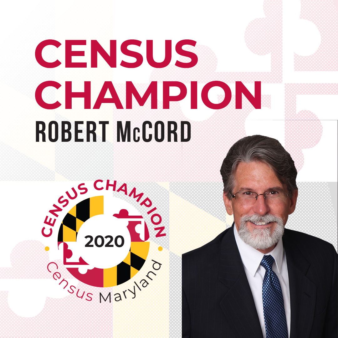Census Champion Rob McCord