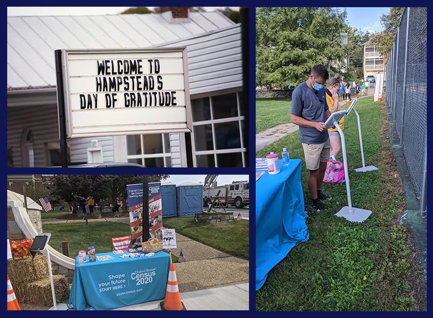 Town of Hampstead Hosts Day of Gratitude, Census Outreach