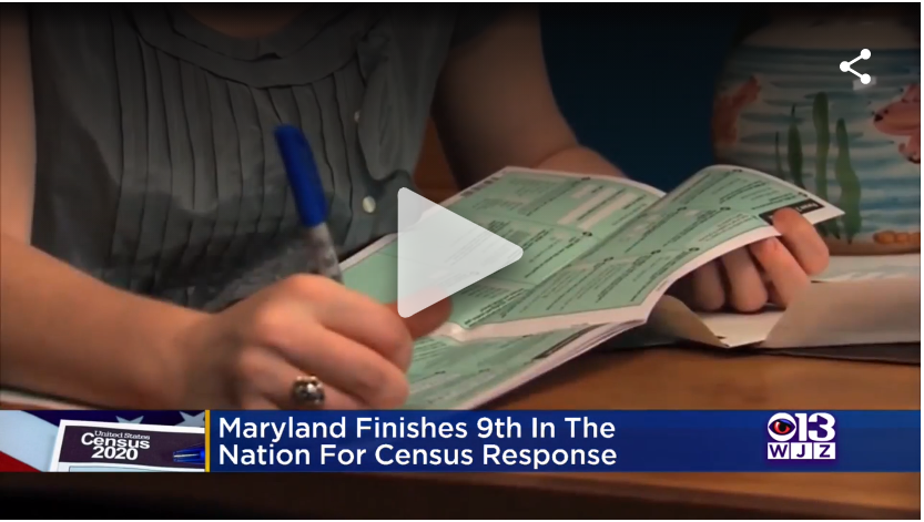 Maryland Finishes In Top 10 States For 2020 Census Response, Hogan Says