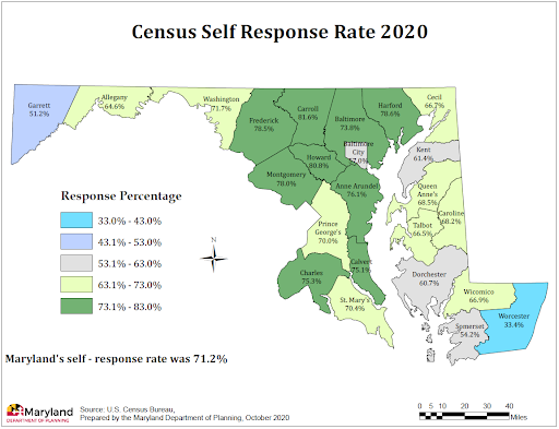 Census Efforts Lead to Census Success in Maryland!