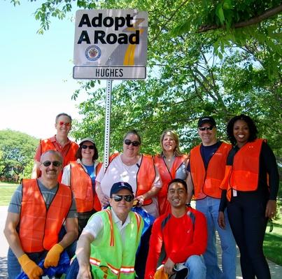adopt a roadhughes
