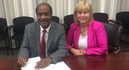 Ike Leggett and Nancy Floreen