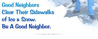 good neighbor snow