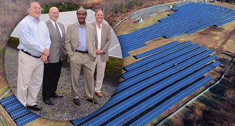 Montgomery's Newest and Largest Solar Panel Project Unveiled at the County's Correctional Facility