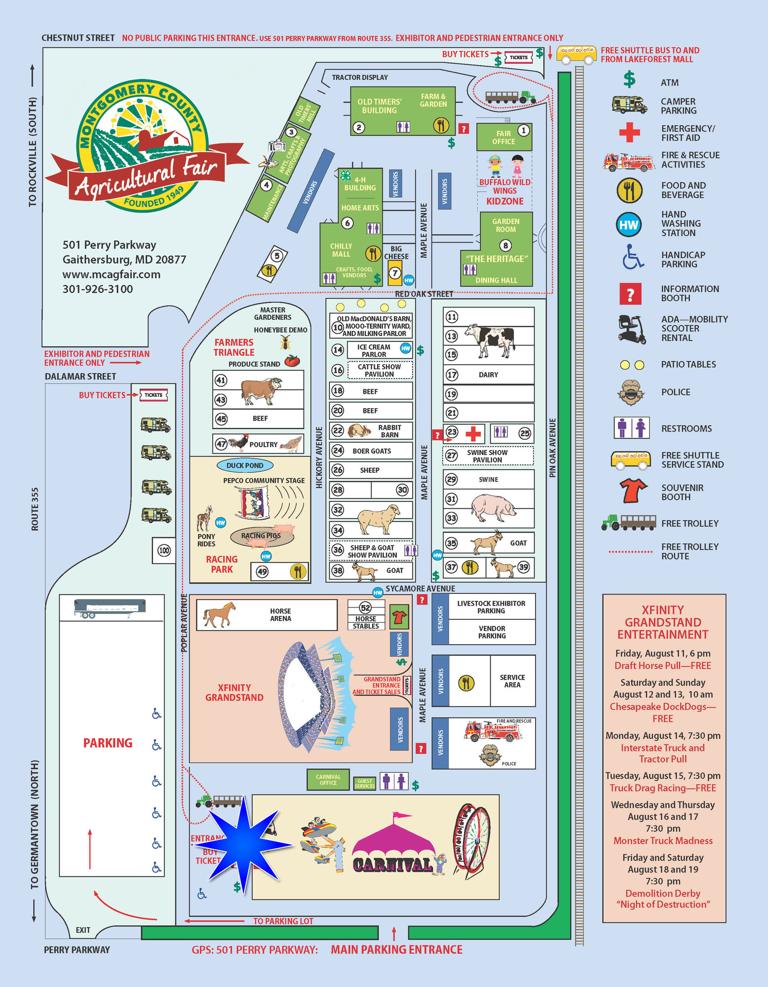 mc fair map 2017