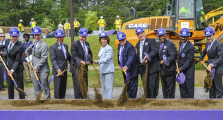 purple line ground breaking