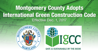 Montgomery County Adopts the International Green Construction Code
