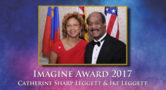 County Executive Ike Leggett and First Lady Catherine Leggett Receive Imagination Award for Services to Children and the Arts