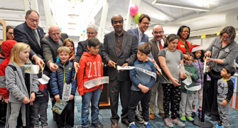 Ribbon-Cutting Celebration Opens the Montgomery County Public Libraries' Quince Orchard Branch
