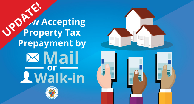 updated property tax prepayment