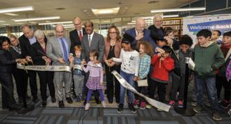 whiteoak library ribbon cutting