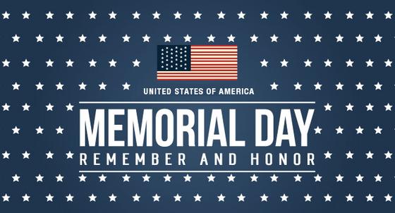 memorial day - remember and honor