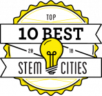 top 10 cities for STEM workers