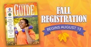 fall registration for recreation and parks