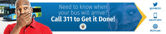 Need to know when your bus will arrive? call 311 to get it done!
