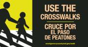 use the crosswalks