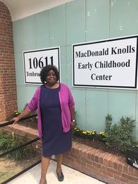 Claudia Simmons at MacDonald Knolls Elementary School