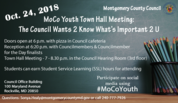 youth council town hall meeting
