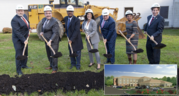 Leggett, Hogan and County Officials Break Ground for the New Avery Road Treatment Center