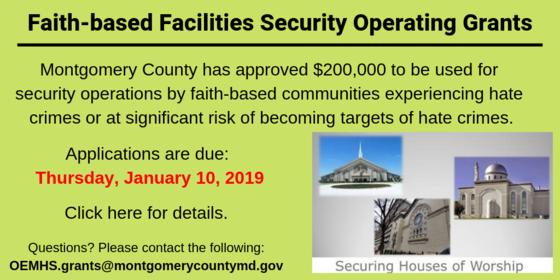faith-based security grant