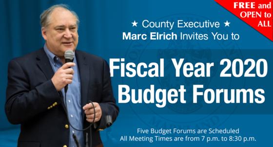 fy2020 budget forum