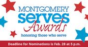 Montgomery serves awards