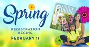 recreation spring registration begins Monday, Feb. 11