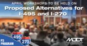 proposed alternatives for i-495 and i-270