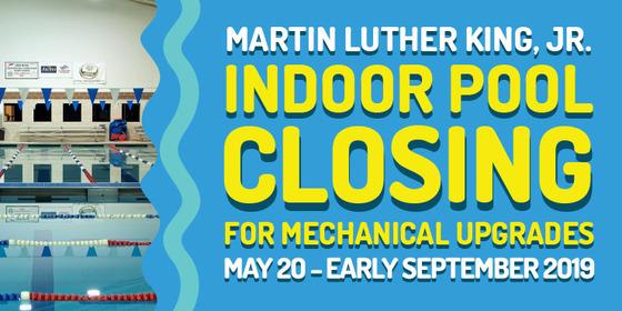 indoor pool closing