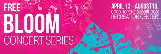 bloom free concert series
