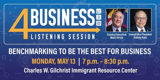 4Business Listening Session Set for May 13