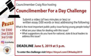 Students Have the Chance to Serve as Honorary Councilmember for a Day