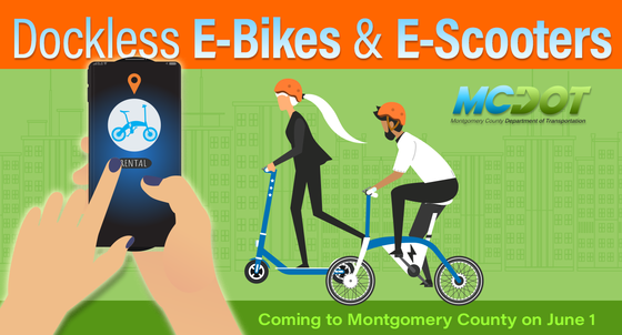 dockless e-scooters and e-bikes