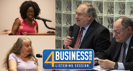 Elrich Announces Local Business Preference Program as 4Business Listening Tour Wraps Up