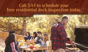 free deck inspection
